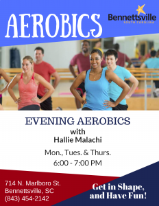 Evening Aerobics @ Bennettsville Community Center | Bennettsville | South Carolina | United States