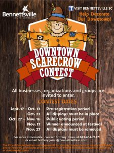 Downtown Scarecrow Contest