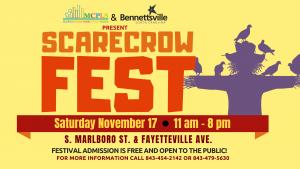 Scarecrow Fest @ S. Marlboro Street & Fayetteville Ave.