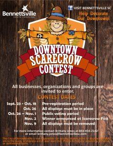 Downtown Scarecrow Contest